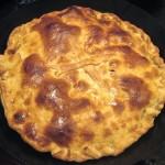 Empanadilla gallega rellena de carne