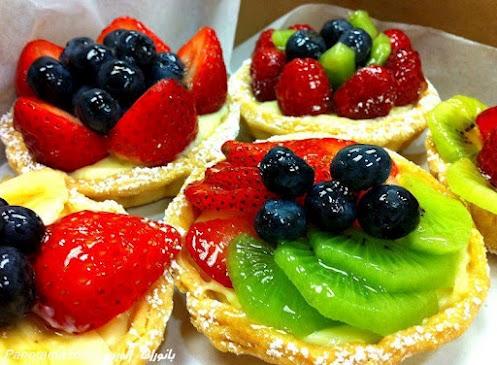 Almoço-Sorvete-Morangos