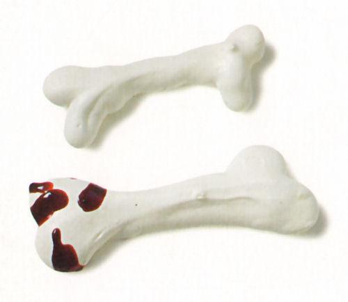 huesos merengue ensangrentados