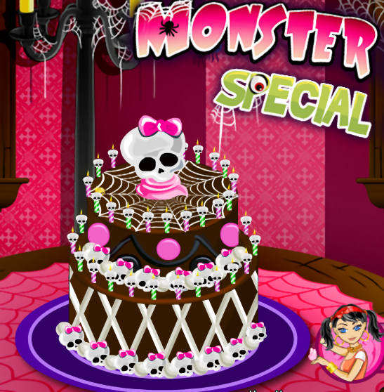 La Tarta Monster High