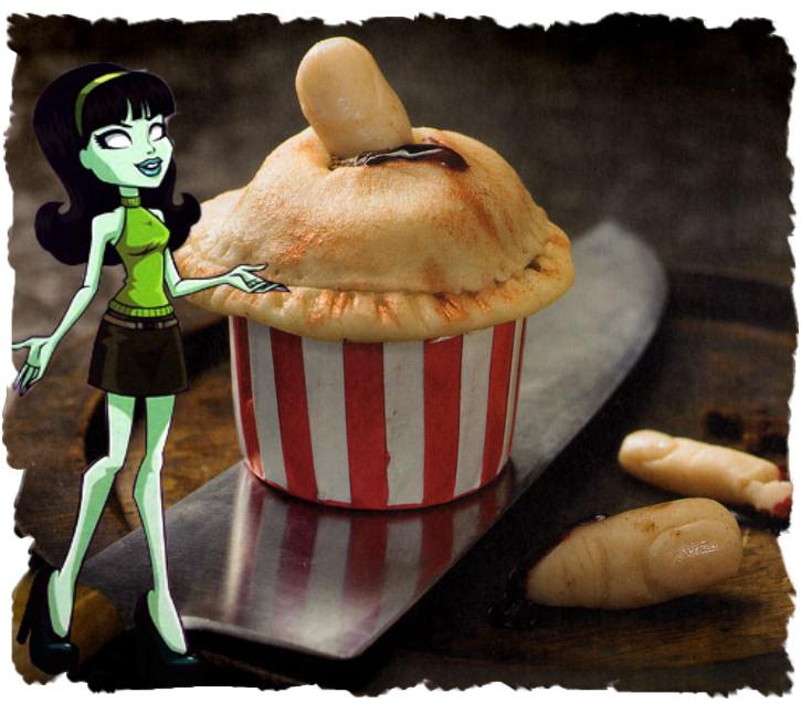 Scarah Screams Cupcakes Sorpresa Sweeney Todd