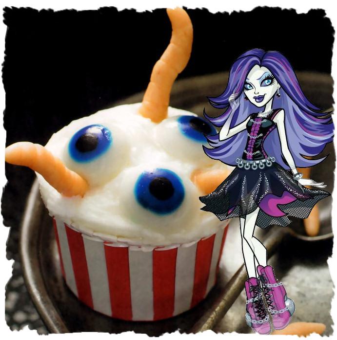 Spectra Vondergist Cupcakes Ojos Espeluznantes