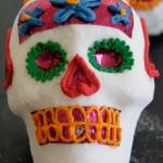 Calaveritas de azúcar mexicanas para el Día de Muertos