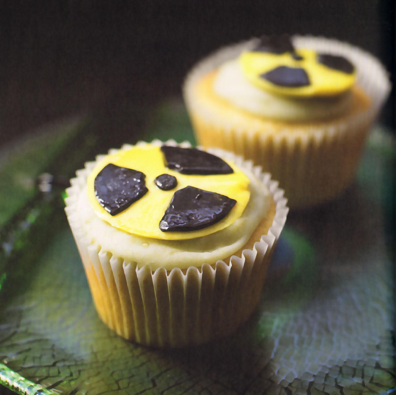 cupcakes baba radioactiva