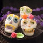 Cupcakes Calaveras de Todos los Santos