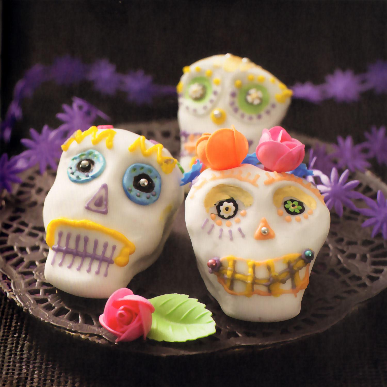 cupcakes calaveras todos los santos