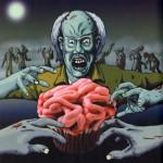 Cupcakes Cerebros Ensangrentados