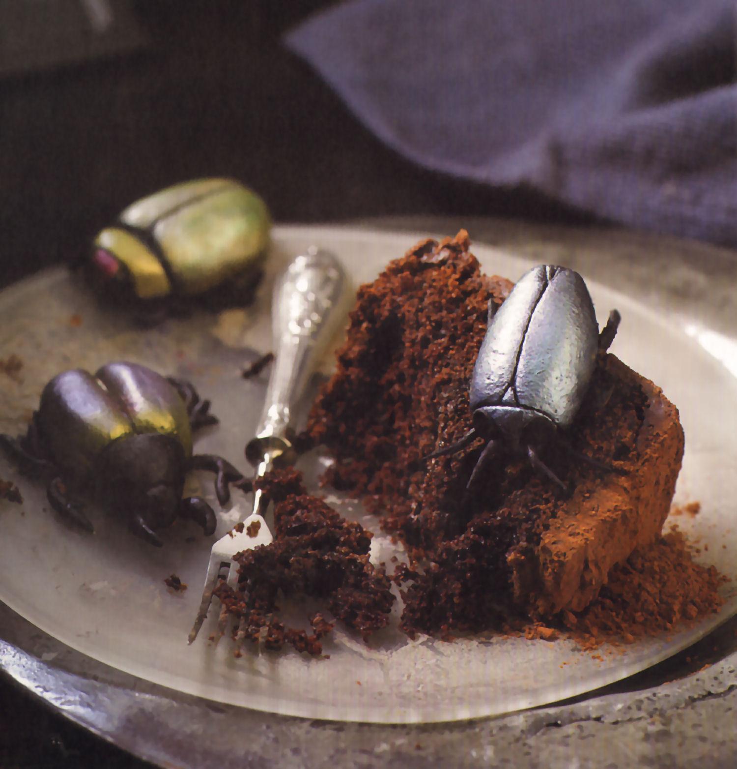 cupcakes escarabajos mazapan