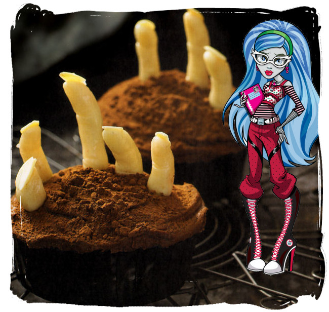 ghoulia yelps cupcakes manos zombie