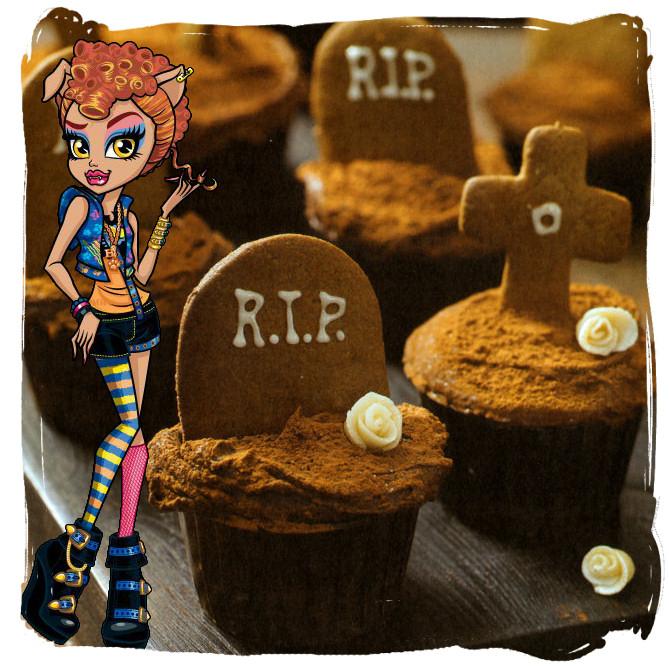 howleen wolf cupcakes cementerio jengibre