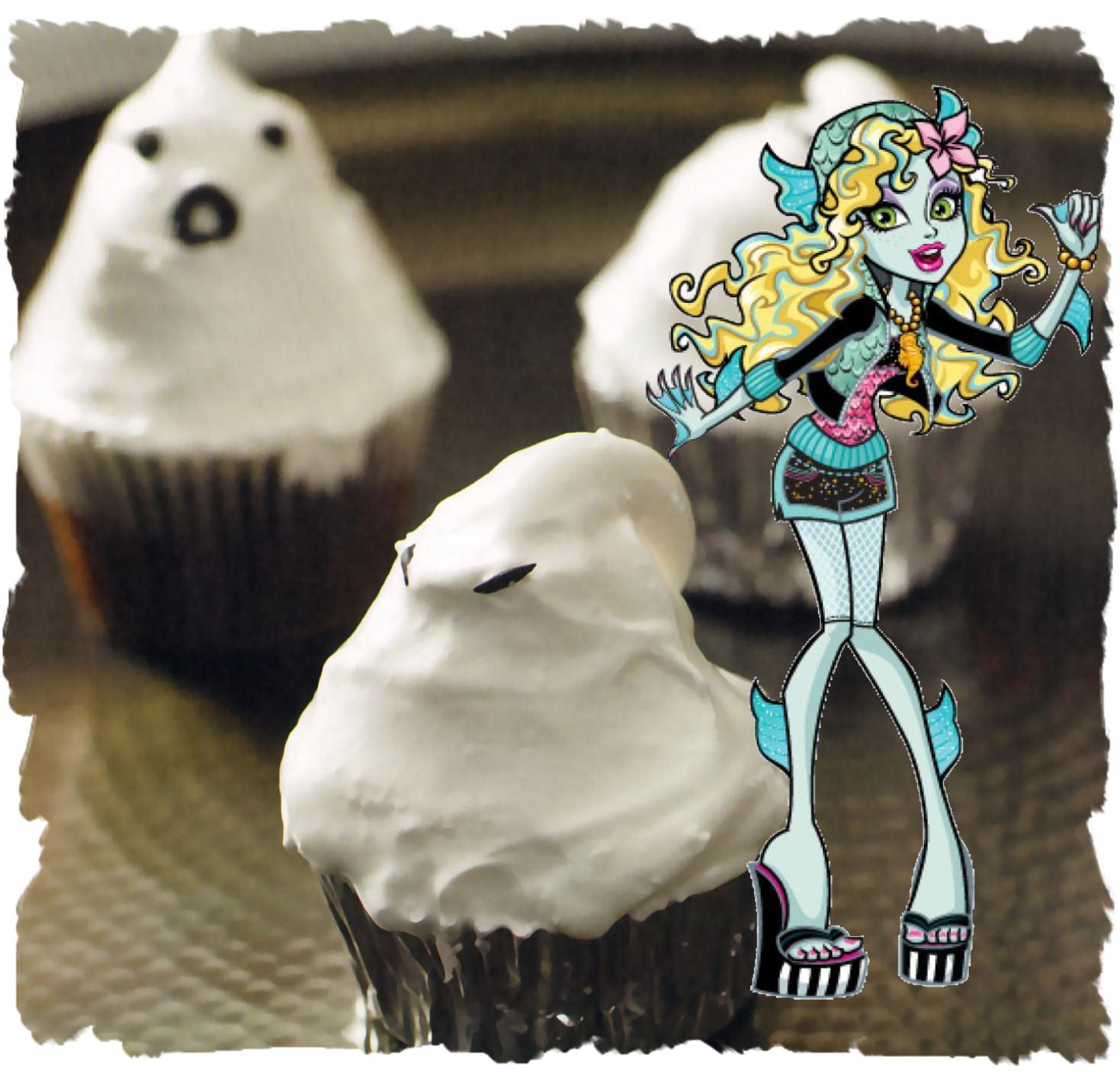 lagoona blue cupcakes merengues fantasmales