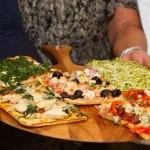Pizza para entrantes