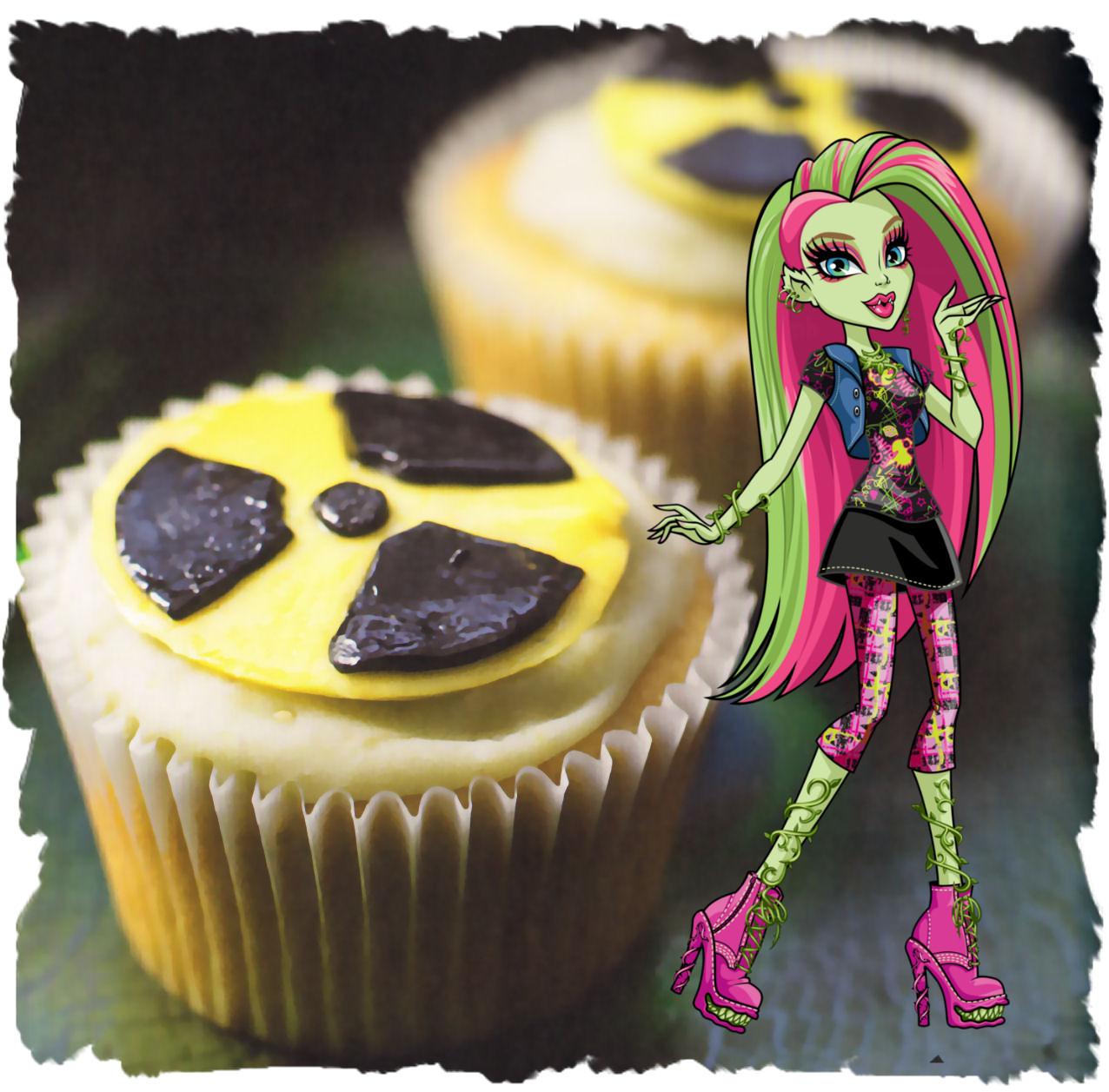 venus mcflytrap cupcakes baba radiactiva