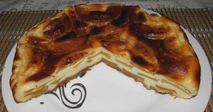 tarta-queso-manzana