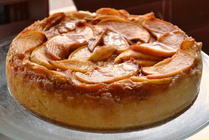 pastel-queso-fresco-manzana-light