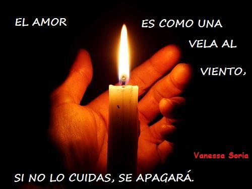 El amor es como una vela
