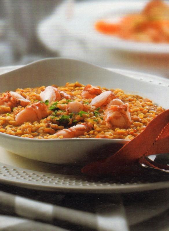 arroz caldoso carabineros