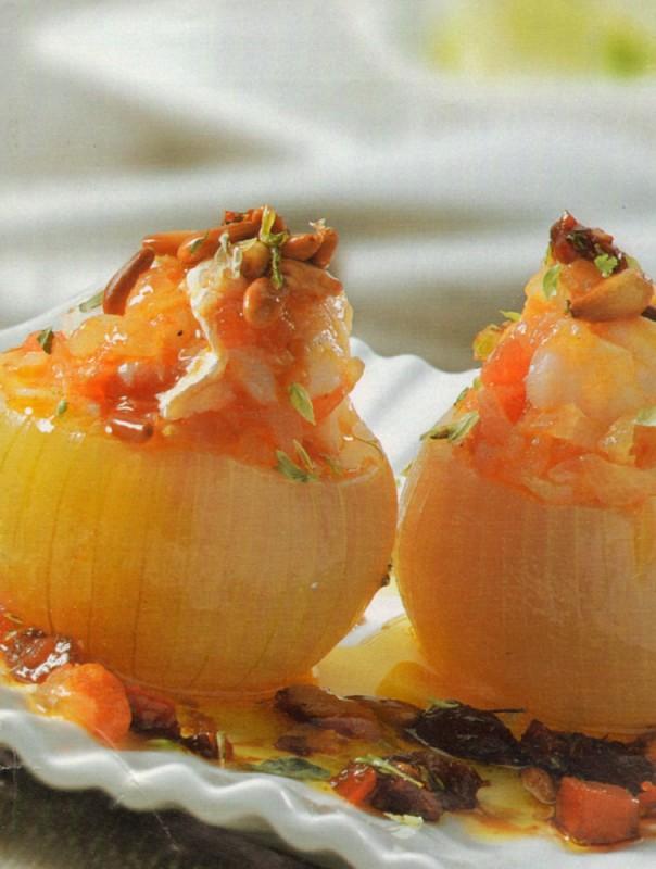 cabollas rellenas bacalao tomates secos