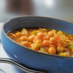 Garbanzos guisados con curry
