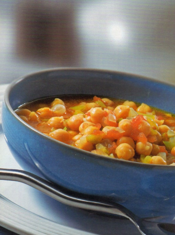 garbanzos guisados curry