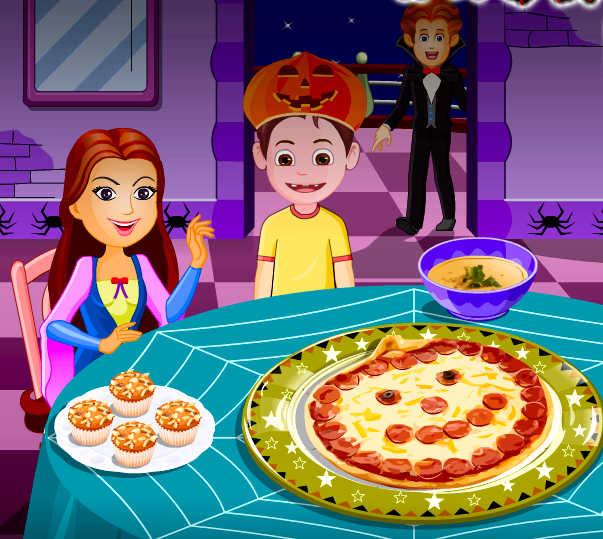 Juego De Cocinar Pizzas Para Halloween La Cocina De Bender