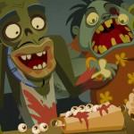 Juego en la hamburguesería de los zombis