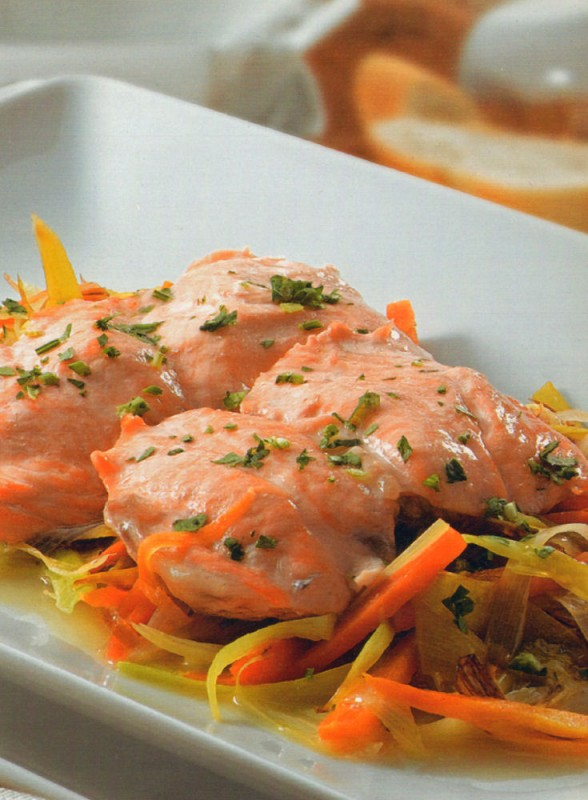 salmon juliana verduras