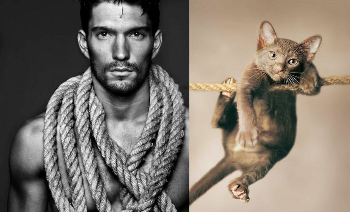 hot_men_and_their_feline_counterparts_14