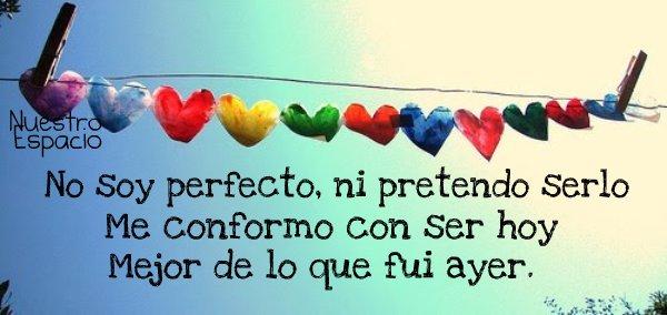 no soy perfecto buena