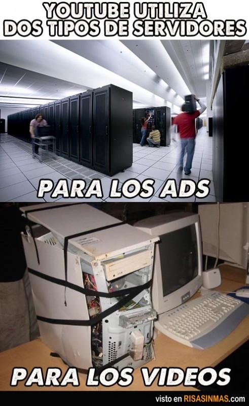 servidores-de-youtube