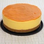 Tarta de queso fresco con mango