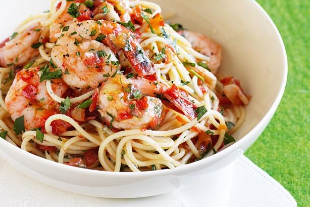 espaguetis-picantes-langostinos