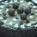 Pastel fácil de Ferrero Rocher