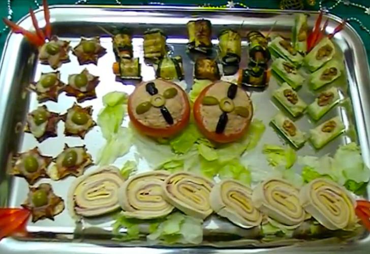 V deo recetas de canap s variados la cocina de bender - Como hacer un canape ...