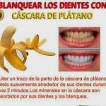 Mascarillas caseras y blanquear dientes