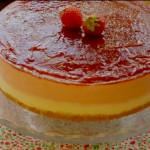 Receta para tarta de fresas sin horno