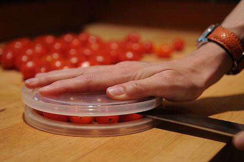 truco cortar tomates