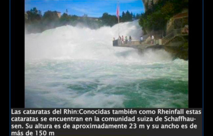 cataratas rhin