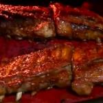 Costillas al horno estilo BBQ