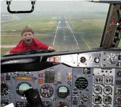 niño avion