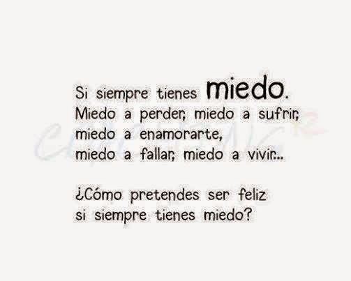 siemple miedo