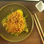 Fideos Yakisoba con chop suey de verduras