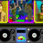 Juego de disc jockey con los Sims