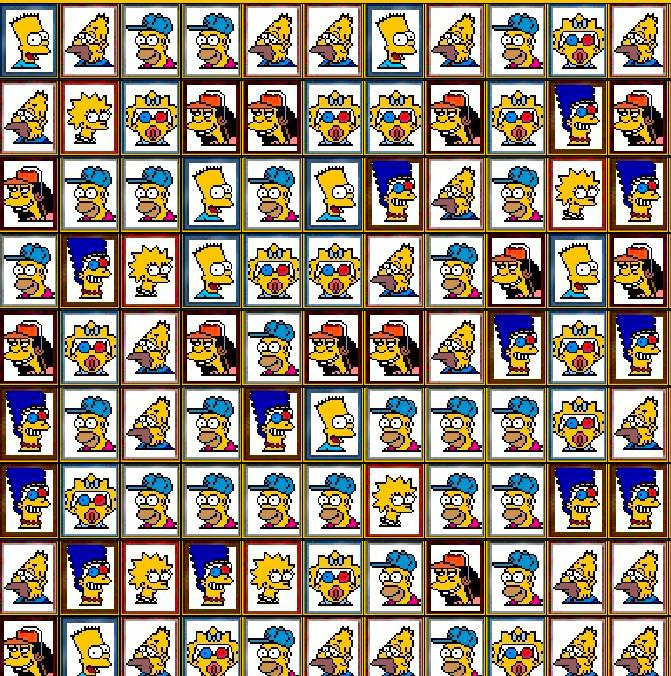 juego-mahjong-simpsons