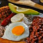Vídeo receta de bandeja paisa Colombiana