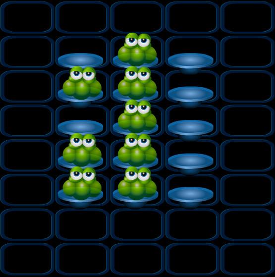 juego-con-ranas-damas
