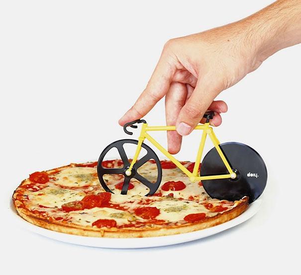 cortapizzas bicicleta