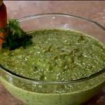 Receta de salsa verde Guacamole