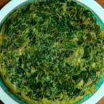 Tortilla de espinacas a la suprema