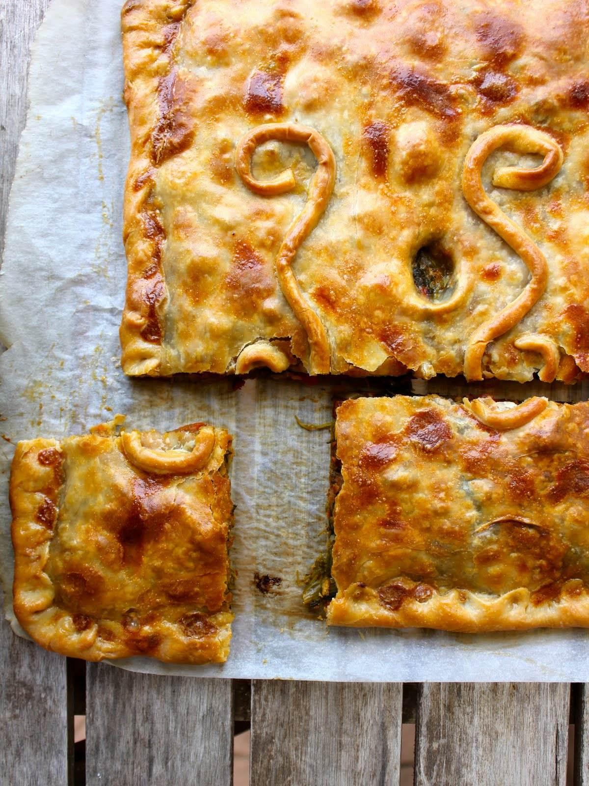 empanada lacon queso tetilla
